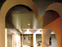 interior of Ramaz School by James S. Rossant, Conklin + Rossant